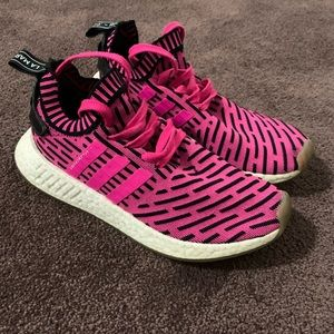 Adidas nmd r2 pack shock pink men's sz 7.5